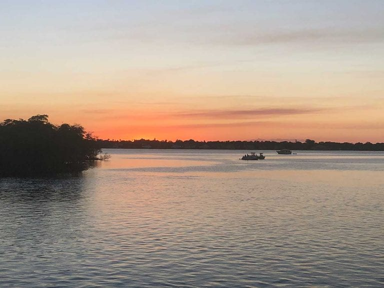 St Lucie Sandbar Sunset